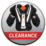 Clearance Goalie Chest and Arm Protectors