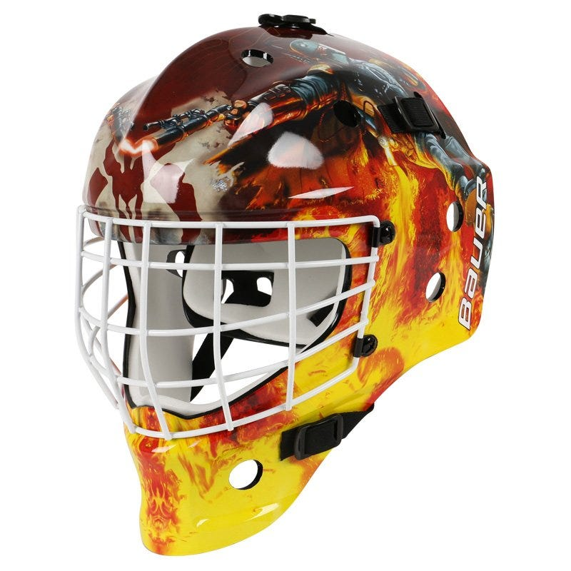 Bauer NME Street Star Wars Yth. Goalie Mask - Boba Fett