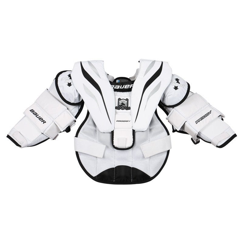 Bauer Prodigy Yth. Goalie Chest  Arm Protector - 14 Model
