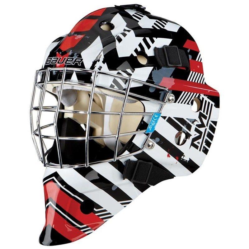 Bauer NME3 Decal Goalie Mask - Matrix