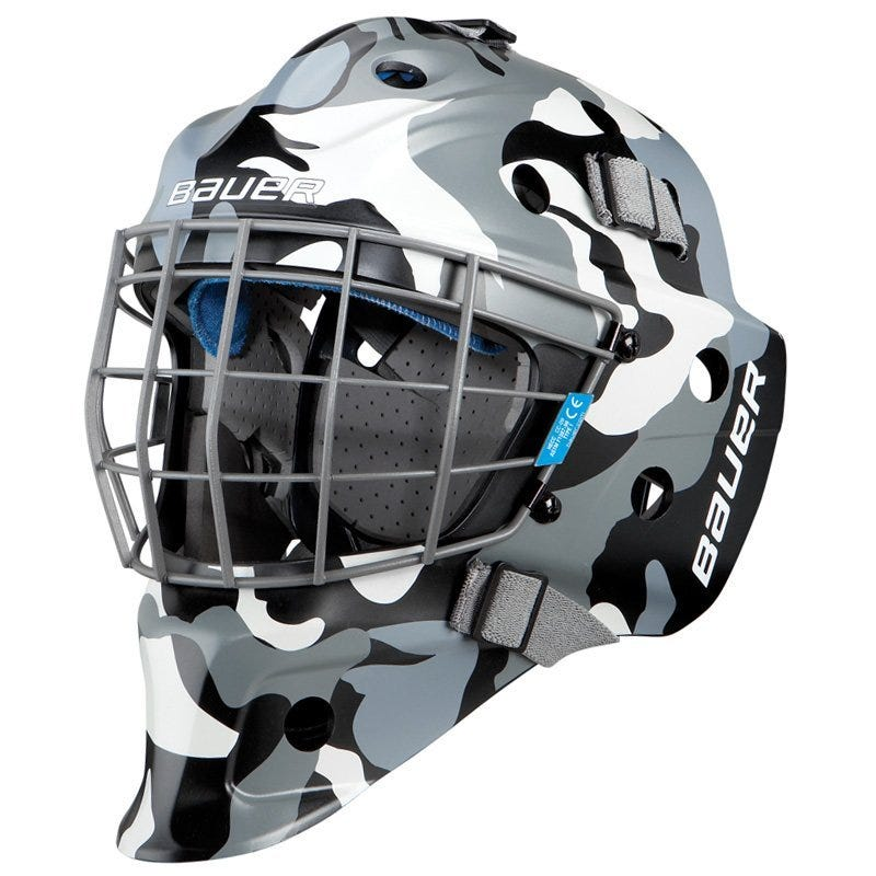 Bauer NME 5 Camo Jr. Goalie Mask