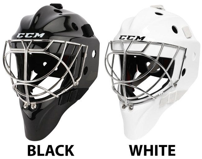 Ccm Pro Non Certified Cat Eye Goalie Mask