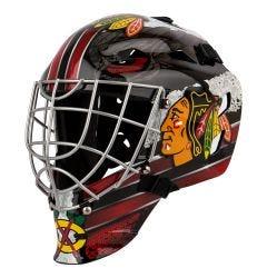 Franklin GFM 1500 Chicago Blackhawks Goalie Face Mask