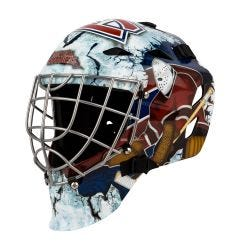 Franklin GFM 1500 Montreal Canadiens Goalie Face Mask