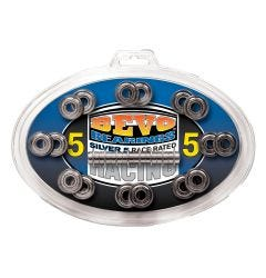 Bevo Silver 5 Race Rated Chrome Bearings (608)