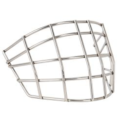 Goalie Monkey Straight Bar Stainless Steel Cage Fits Bauer 9600