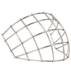 Goalie Monkey Straight Bar Chrome Cage Fits TPS Masks