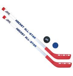 A&R Mini Sticks with Plastic Ball & Puck