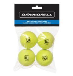 WinnWell Knee Hockey Ball 50mm 10g 4-Pack