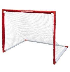 WinnWell 54in. Collapsible PVC Hockey Net w/ Carry Bag