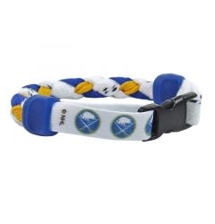 Swanny's Buffalo Sabres Skate Lace Bracelet