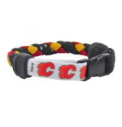 Swanny's Calgary Flames Skate Lace Bracelet