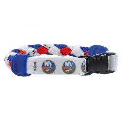 Swanny's New York Islanders Skate Lace Bracelet