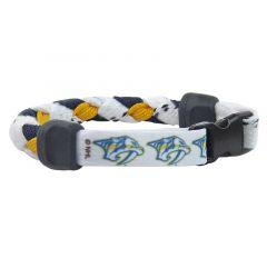 Swanny's Nashville Predators Skate Lace Bracelet
