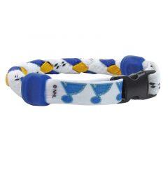 Swanny's St. Louis Blues Skate Lace Bracelet