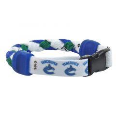 Swanny's Vancouver Canucks Skate Lace Bracelet