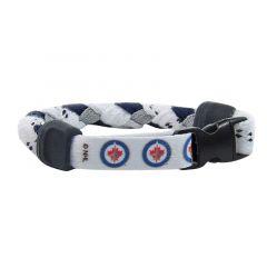 Swanny's Winnipeg Jets Skate Lace Bracelet