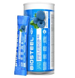 Biosteel Sports Hydration Mix Blue Raspberry - 12ct