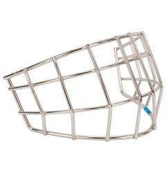 CCM Carbon Steel Youth Straight Bar Cage - Chrome