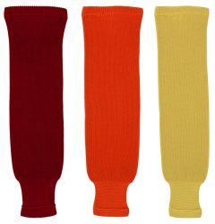 Dogree Solid Color Knit Hockey Socks