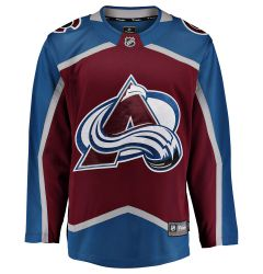 Colorado Avalanche Fanatics Breakaway Adult Hockey Jersey