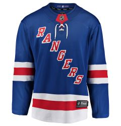 New York Rangers Fanatics Breakaway Adult Hockey Jersey