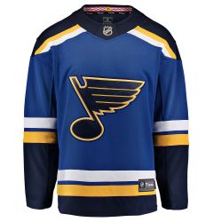 St. Louis Blues Fanatics Breakaway Adult Hockey Jersey