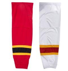 Calgary Flames Stadium Mesh Hockey Socks