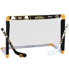 Boston Bruins Franklin NHL Mini Hockey Goal Set