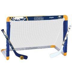 Buffalo Sabres Franklin NHL Mini Hockey Goal Set