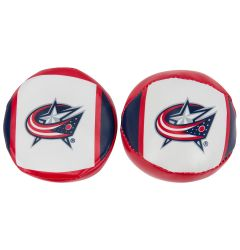 Franklin Columbus Blue Jackets NHL Soft Sport Ball & Puck Set
