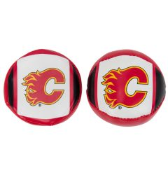 Franklin Calgary Flames NHL Soft Sport Ball & Puck Set