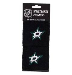 Franklin Dallas Stars NHL Wristbands - 2 Pack
