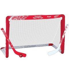Detroit Red Wings Franklin NHL Mini Hockey Goal Set