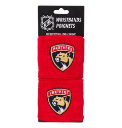Franklin Florida Panthers NHL Wristbands - 2 Pack