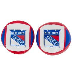 Franklin New York Rangers NHL Soft Sport Ball & Puck Set