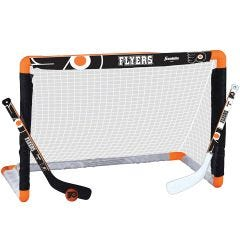Philadelphia Flyers Franklin NHL Mini Hockey Goal Set