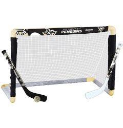 Pittsburgh Penguins Franklin NHL Mini Hockey Goal Set