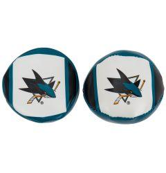 Franklin San Jose Sharks NHL Soft Sport Ball & Puck Set