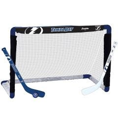 Tampa Bay Lightning Franklin NHL Mini Hockey Goal Set