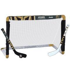 Vegas Golden Knights Franklin NHL Mini Hockey Goal Set