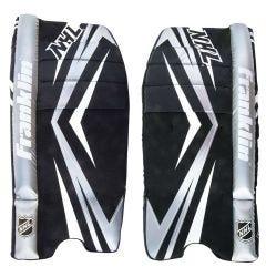 Franklin NHL 120 Junior Street Goalie Leg Pads - 23in.