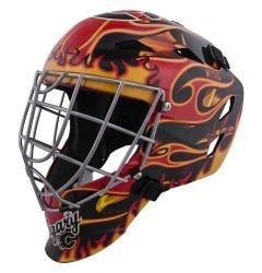 Calgary Flames Franklin GFM 1500 Goalie Face Mask
