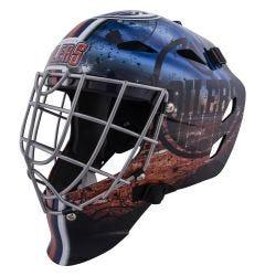 Edmonton Oilers Franklin GFM 1500 Goalie Face Mask