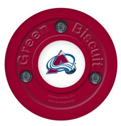 Green Biscuit Colorado Avalanche Training Puck