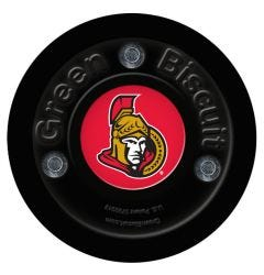 Ottawa Senators Green Biscuit Training Puck