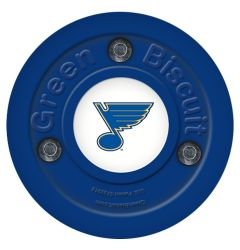 St. Louis Blues Green Biscuit Training Puck