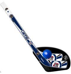 Winnipeg Jets 1 On 1 Mini Hockey Set