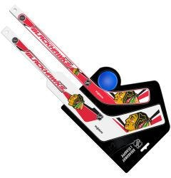 Chicago Blackhawks Breakaway Mini Hockey Set