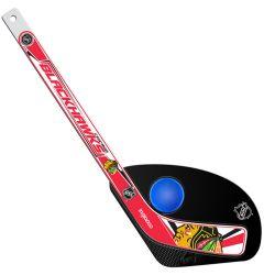 Chicago Blackhawks Hat Trick Mini Hockey Set